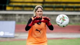 Sandra Sepúlveda, arquera del DIM.