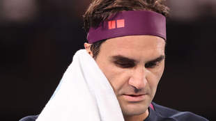 Roger Federer, tenista suizo.