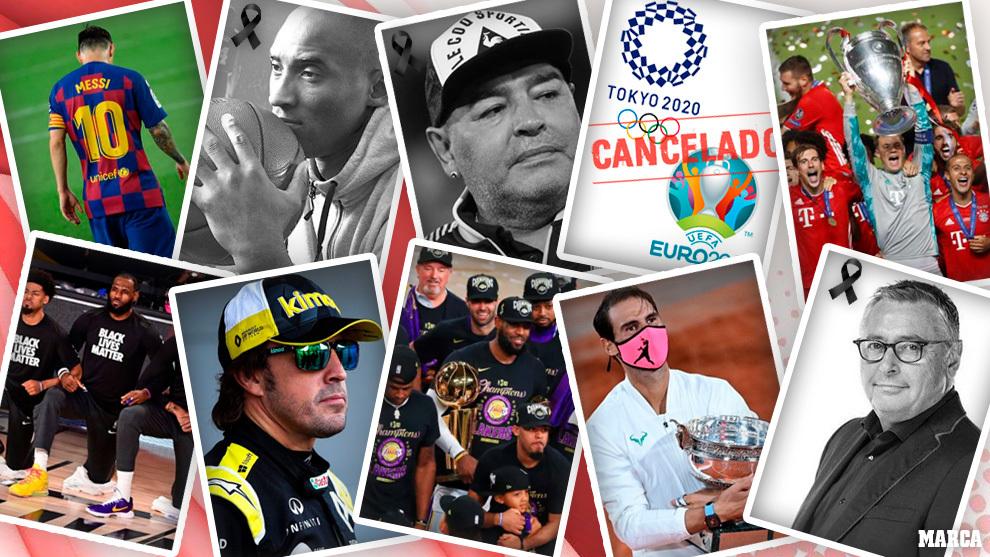 Resumen 2020: el año del Covid-19, el adiós a Kobe Bryant y Maradona... 1