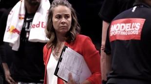 Becky Hammon, primera mujer en dirigir a un equipo de la NBA.