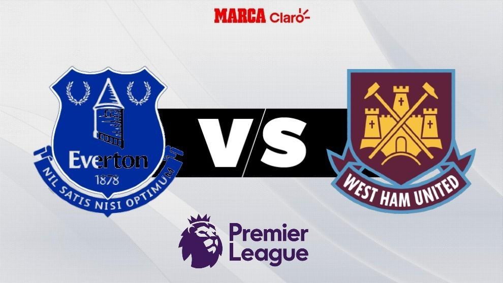 En vivo el partido de hoy: Everton vs West Ham