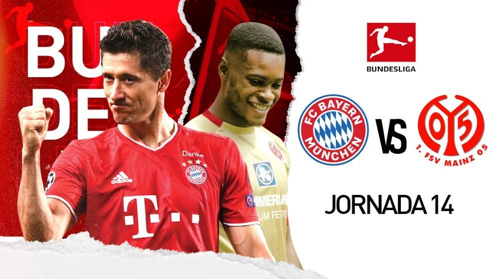 Bayern Munich vs Mainz 05, en vivo online la transmisión del ...