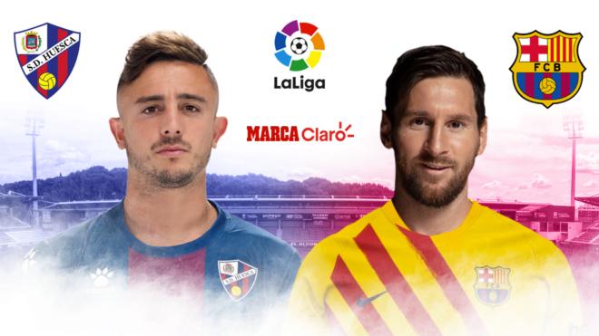 Huesca vs Barcelona, en vivo online el partido de la Jornada 17 de ...