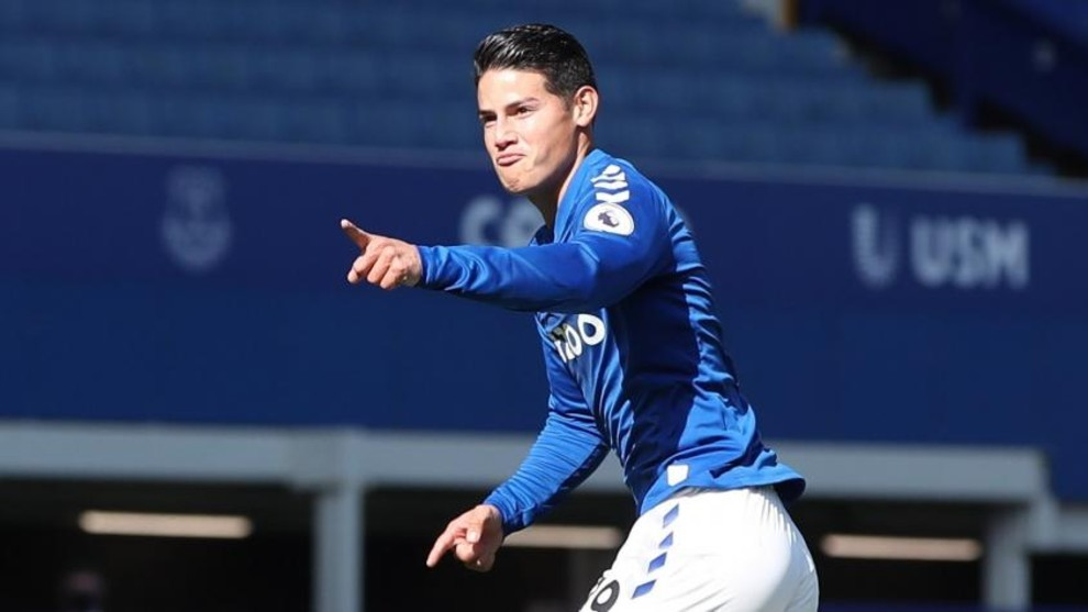James Rodríguez se confiesa en entrevista con Everton.