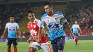 El 2016 defendió los colores de Independiente Santa Fe