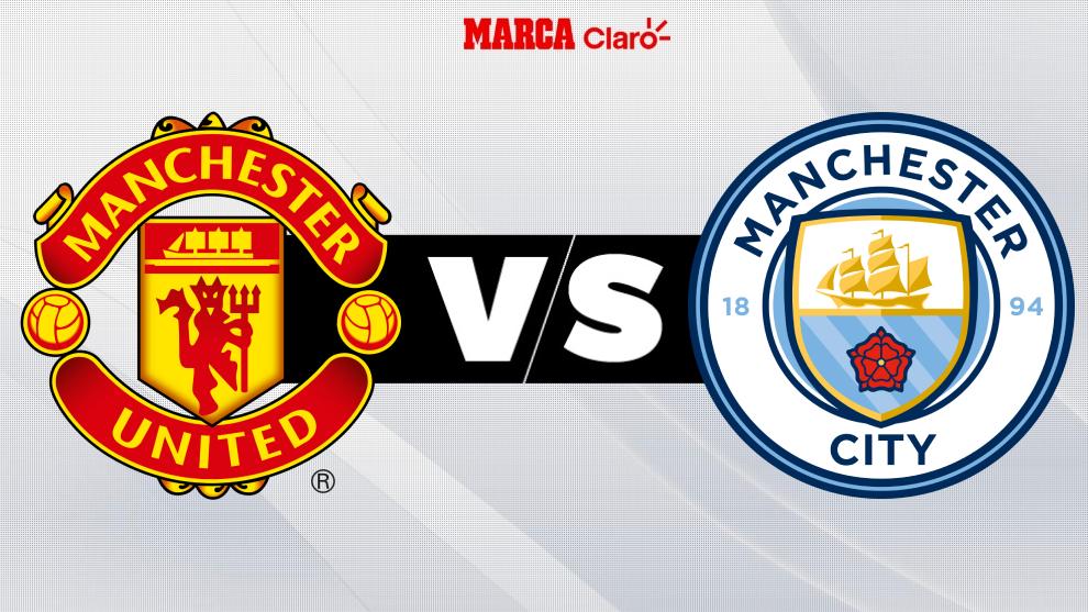 Manchester United vs Manchester City, ver partido en vivo online.