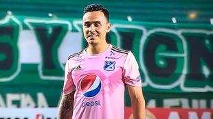 Santiago Montoya, justo antes de patear el penalti de la discordia...