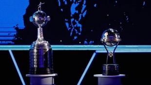 Copa Libertadores y Copa Sudamericana, durante un evento.