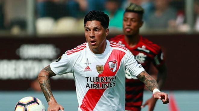 Enzo Pérez se marcha de River Plate cuando acabe de jugar la ...