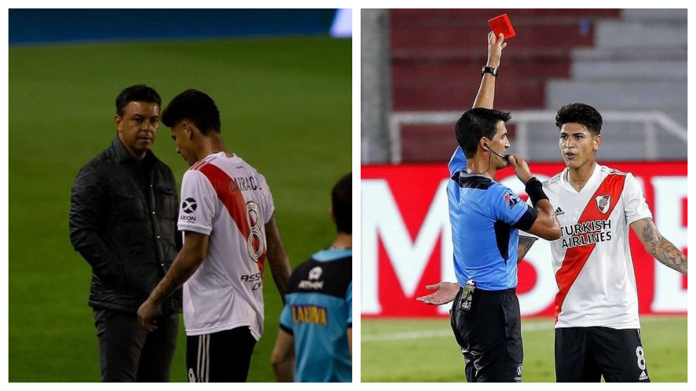 El dato que condena a Jorge Carrascal en River Plate