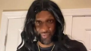 Lamar Odom, ex jugador de la NBA
