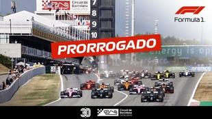 Anuncio de renovación del Circuito de Barcelona-Cataluña.