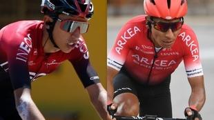 Egan Bernal y Nairo Quintana, se recuperan de sus lesiones