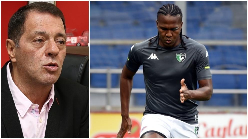 Tulio Gómez se le planta a Rodallega.