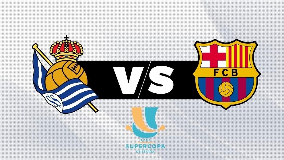 Real Sociedad vs Barcelona: en vivo el partido de la Supercopa