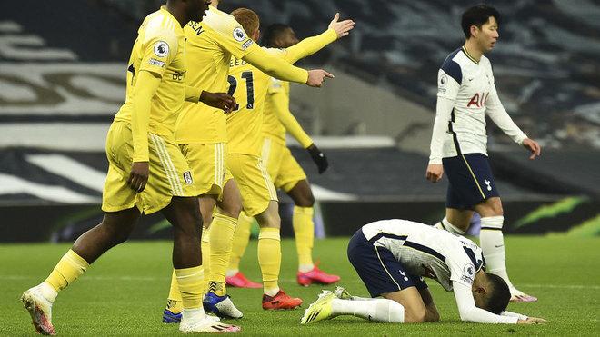 Tottenham se atasca ante el Fulham y es sexto