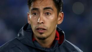 Fabián Sambueza, jugador del Junior de Barranquilla.