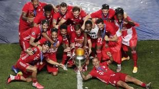 El Bayern es el último campeón de la Champions.