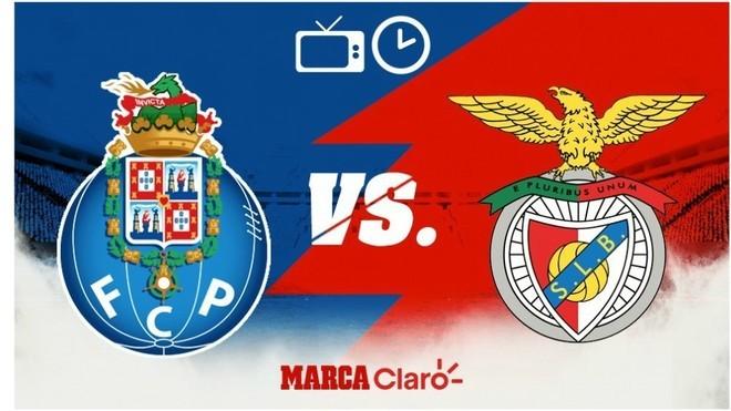 Oporto vs Benfica: horario y dónde ver en vivo el clásico de Portugal