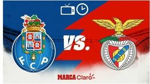 Porto vs Benfica: Horario y cómo ver en vivo. MARCA Claro