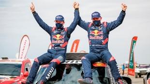 Stepahne Peterhansel fue el vencedor del Dakar 2021 y suma con este 14...