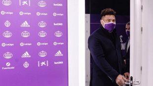 Ronaldo, en una imagen de archivo en Valladolid