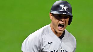 Gio Urshela, beisbolista colombiano de los New York Yankees.