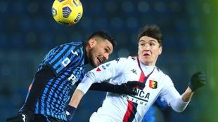 Empate sin goles entre Atalanta y Genoa.