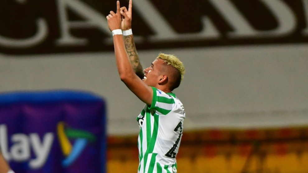 La razón del llanto de Neyder Moreno tras el gol a Santa Fe