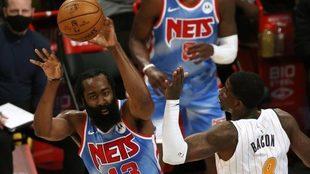 Harden, con los Nets, su nuevo equipo
