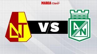 Tolima vs Nacional, en directo partido de la Copa BetPlay.