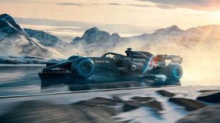 El A521 con el que correrá Alonso.
