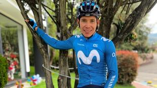Miguel Ángel López será líder del Movistar Team en el Tour de...