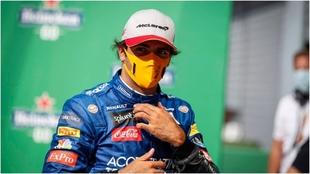 Carlos Sainz Jr., piloto de Ferrari.