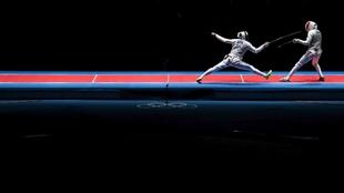 Esgrima, en los Jugos Olímpicos.