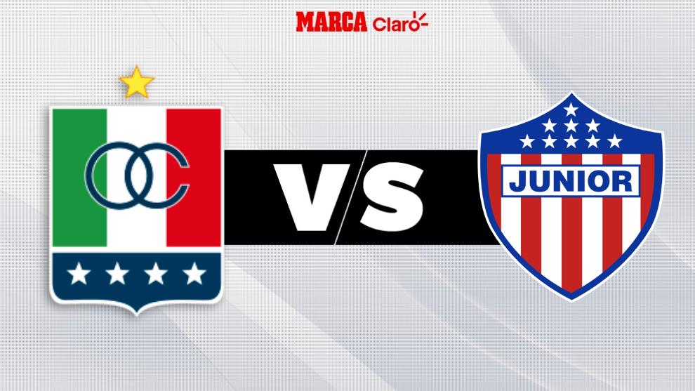 Once Caldas vs Junior de Barranquilla, en directo; fútbol colombiano.