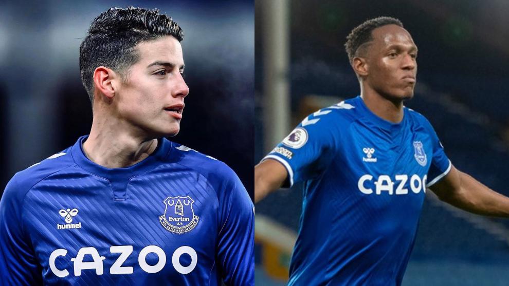 """""""Todo en el Everton giró en torno a James Rodríguez"""""""