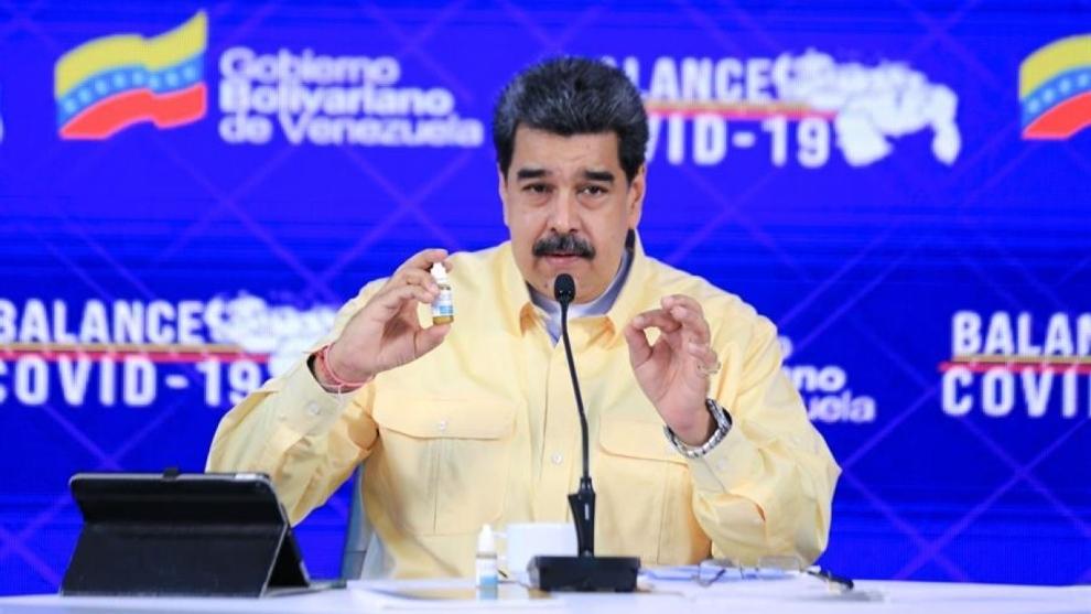 Nicolás Madruo presentó Carvativir.