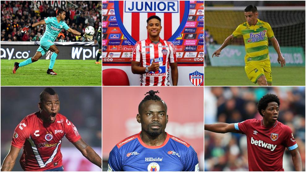Jugadores libres colombianos