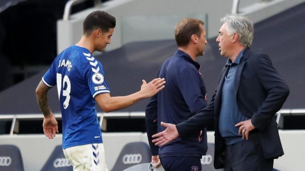 Una pareja que sueña con hacer historia en el Everton.