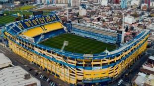 LA Bombonera, estadio de Boca Juniors.
