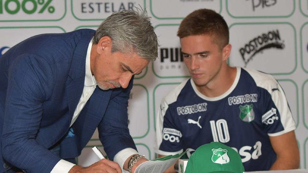 Marco Caicedo, presidente del Deportivo Cali, reveló que Agustín...