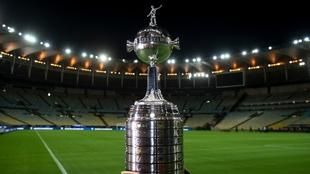 Trofeo de la Copa Conmebol Libertadores.