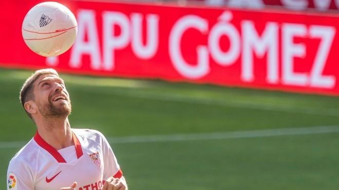 Papu Gómez enloquece a la afición del Sevilla con un golazo ante ...