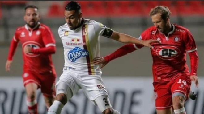 Yeison Gordillo en un partido con el Deportes Tolima