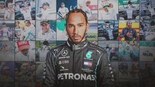 Lewis Hamilton, con Mercedes.