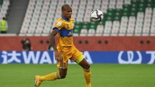 Quiñones fue la figura en el duelo ante Palmeiras.