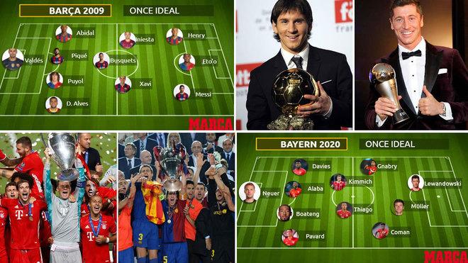 Bayern de Múnich y Barcelona, dos equipos legendarios que lograron el...