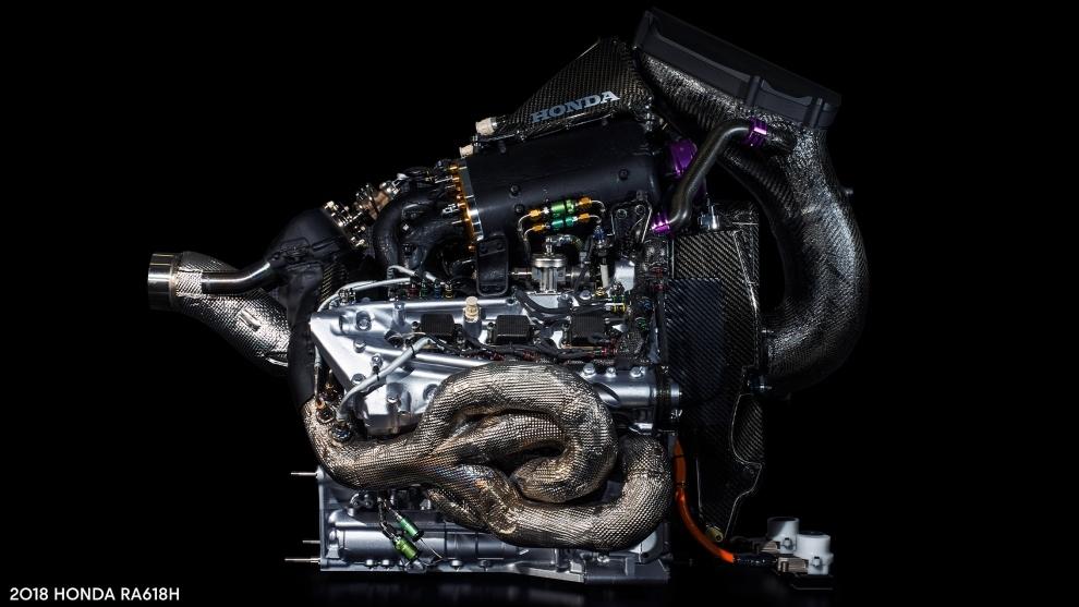 Motor Honda anunciado por Red Bull.