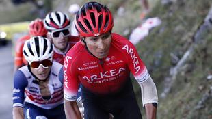 Nairo Quintana no fue invitado a La Vuelta a España 2021.